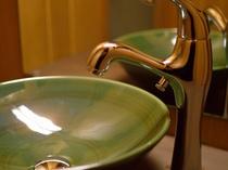 雰囲気のある洗面台