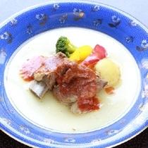 【洋皿】豚スペアリブ 和風トマト煮込