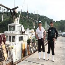 【隠岐の白烏賊】漁師さん