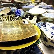 【器選び】清風荘の料理を彩る大切な器