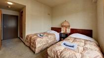 *【客室一例】広さ15.5平米のツインルームです