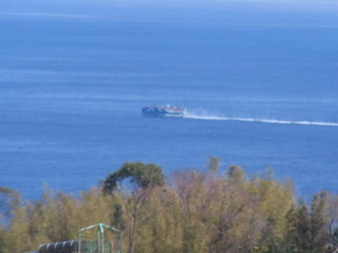 海とジェットホィール
