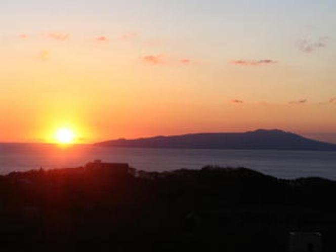 伊豆大島日の出