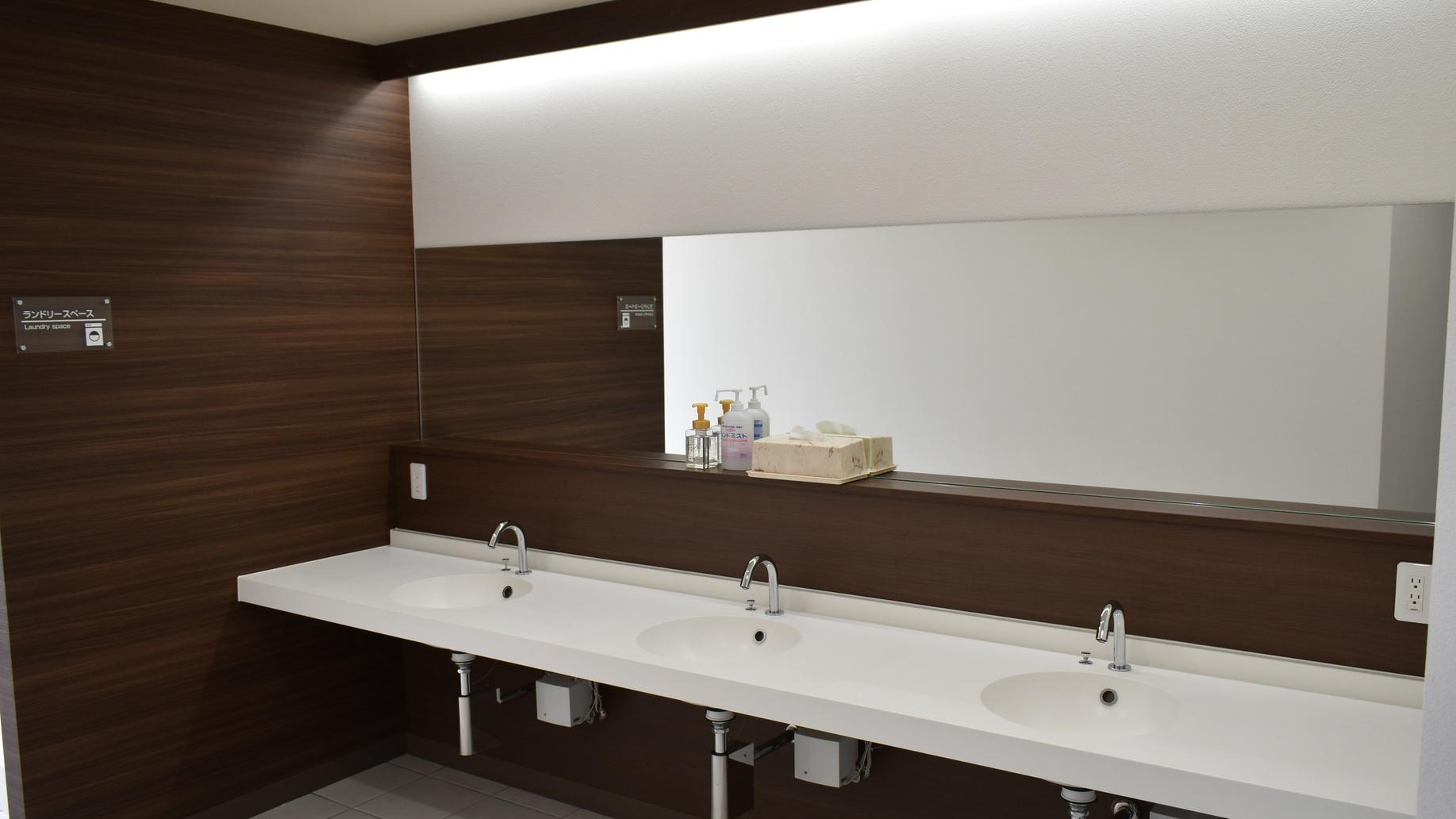 ■共有洗面スペース
