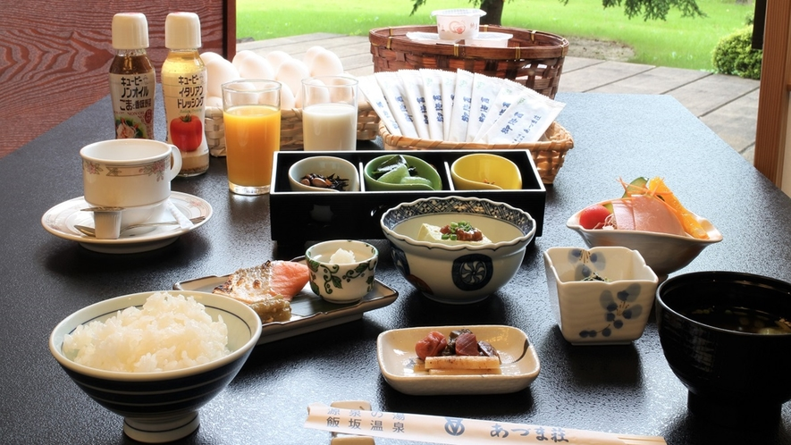 *【朝食一例】/朝ごはんをしっかり食べて健康的な朝を!