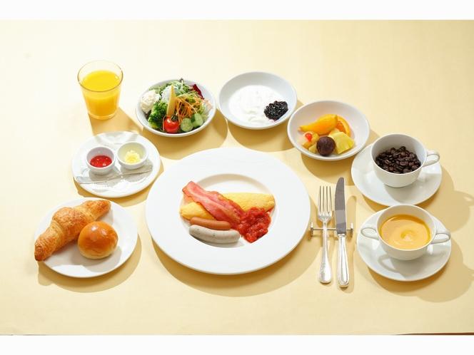 洋食:朝食