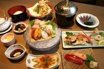 旬彩千歳でのお食事の一例