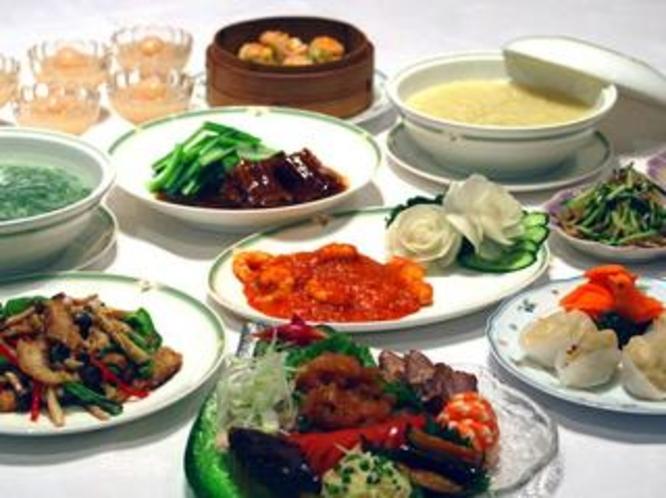 中国料理コース 一例