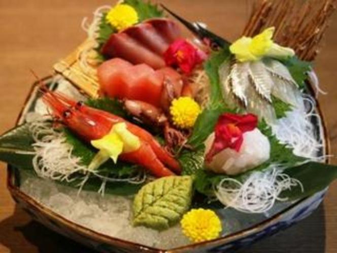 富山のきときと海の幸を新鮮なお造りで…