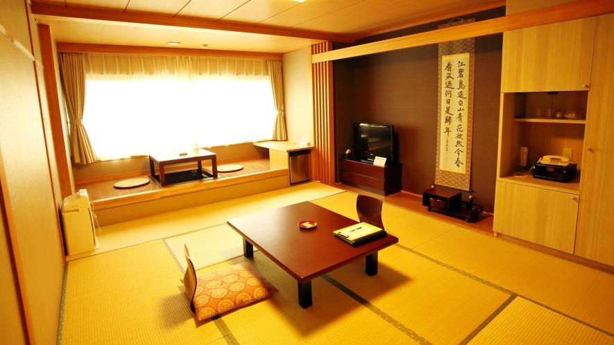 *【和室10畳】広縁のあるお部屋なので通常よりも広々とご利用いただけます。