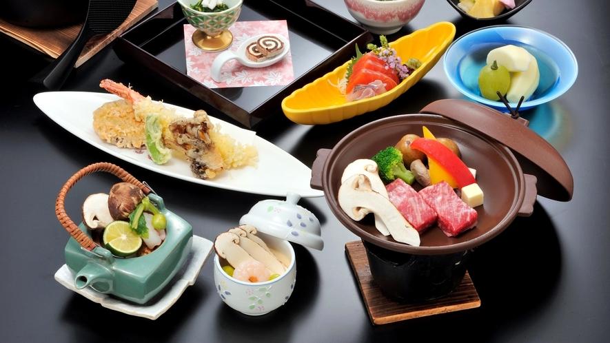 *【信州県産「松茸」会席】秋の一番人気!信州産の松茸を贅沢に用いた松茸会席プランです!