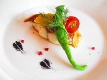 白身魚のパリパリ焼き