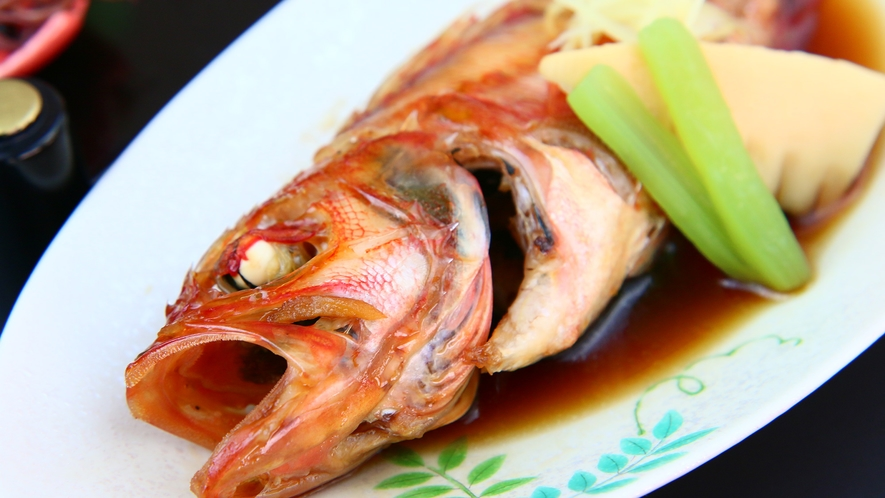 旬魚の姿煮◆しっかりとした味わいをお楽しみ頂けます