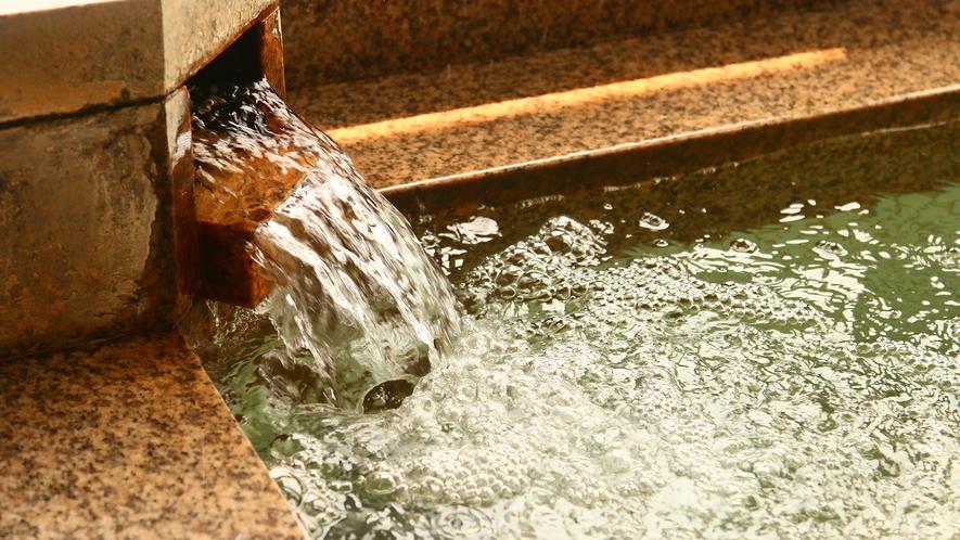 準天然、光明石温泉で身体の芯から暖まる・・・