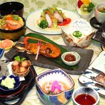 【2018年・夏の三河御膳一例】三河のおいしいが詰まった旬の会席料理です