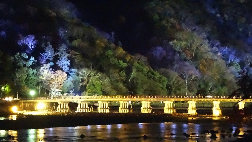 渡月橋(花灯路)