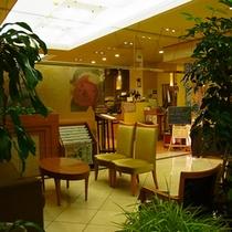 ≪ロビー≫チェックイン後はレストランで休憩したりお部屋で寛いだり思い思いの時間をどうぞ。