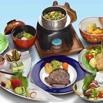 ≪会席一例≫季節の食材をふんだんに使ったお食事をご用意致します。