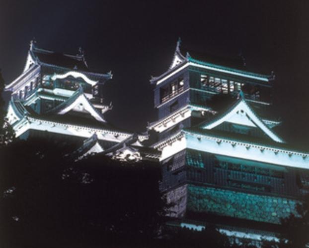 熊本城(ライトアップ)
