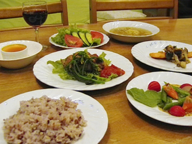 フルコースディナーの一例