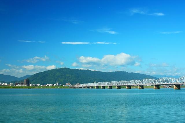 徳島市のシンボル『眉山』
