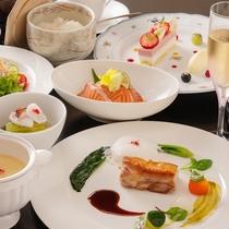 ◇月替わり和洋ディナー◇地元食材を活かしたメニューが人気。