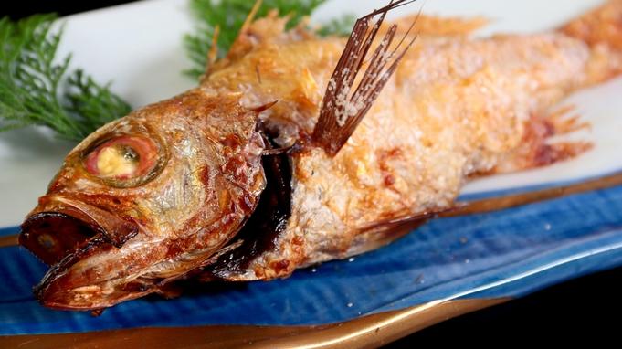 秋はこれに決まり!幻の魚「のどぐろ付き」+カニ刺し付き香住ガニ【1泊2食付】