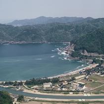 佐津川の河口に広がる「 さづ地区 」