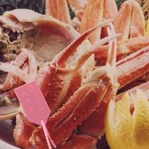 柴山港に水揚げされた良質の松葉カニにのみ「 ピンクのタグ 」が許されます。