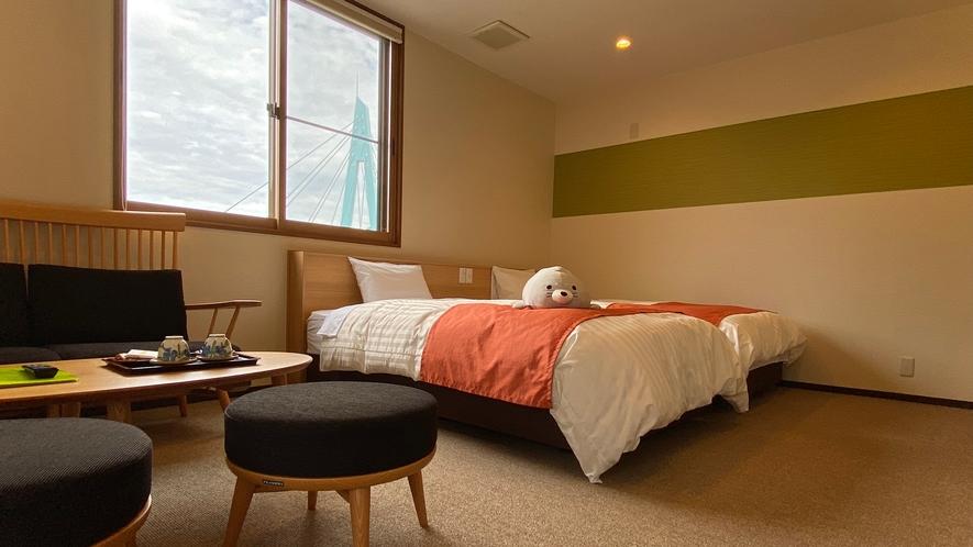 【特別室】ベッドでお休みください