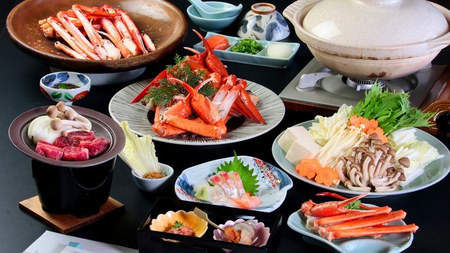 【秋】地元で獲れたお肉【但馬牛付きコース】※写真の大皿は2人前