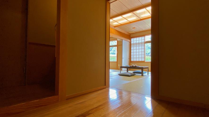 【和室15畳】広々とした空間でごゆっくりと