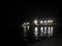 かに漁船出漁6