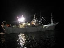 かに漁船出漁5