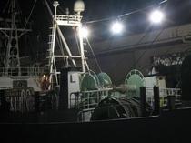 かに漁船出漁2