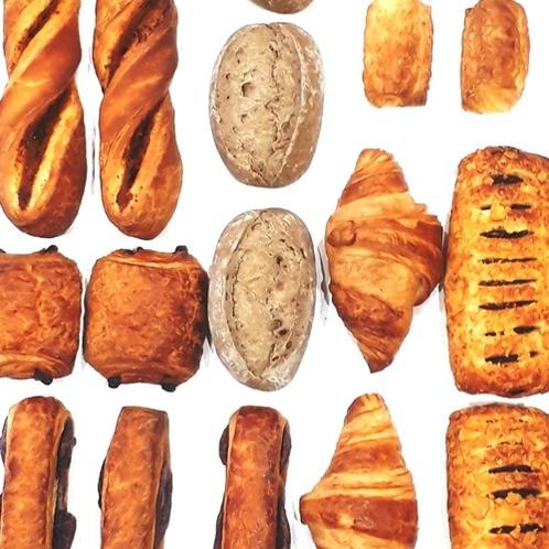 パンは種類が豊富♪ このほかに食パンやバターロールもご用意