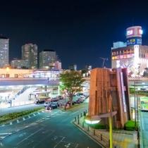 川口駅前夜景 徒歩3分