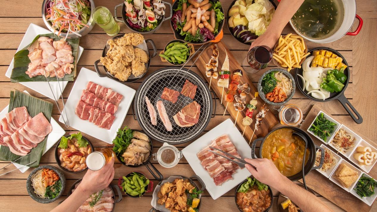 2021年春の食べ放題BBQ