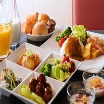 朝食無料サービス(6:00~9:00)