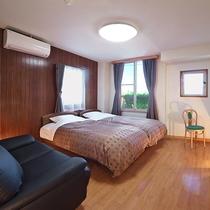 ■寝具を一新したヒルズスタンダードツインルーム