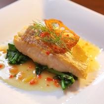 鮮魚のお料理一例(写真はイメージとなります)