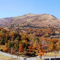 秋の車山高原周辺の景色