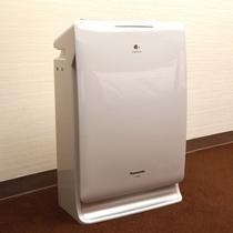 加湿空気清浄機は全室完備