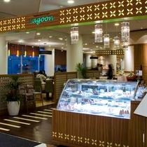 朝食会場:1階レストラン&カフェLagoon