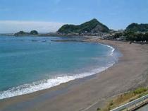 太海(ふとみ)海水浴場(車で4~5分)