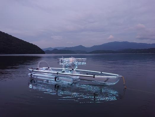 【ナイトカヤック】湖面に映えるクリアリフレクション★湖の真ん中で星空を楽しもう♪