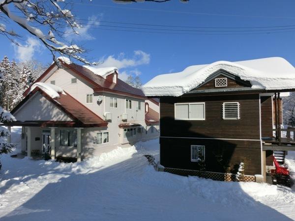プチホテルとコテージぶな冬景色