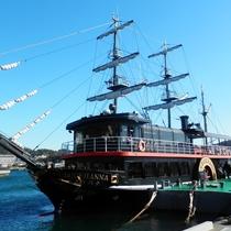 黒船来航の歴史を持つ下田。毎年5月にはお祭りも開催します♪