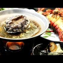 アワビ踊り焼き◆お造りとは違う食感をご堪能下さい。