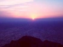 富士山と夕日を望む絶景ポイント